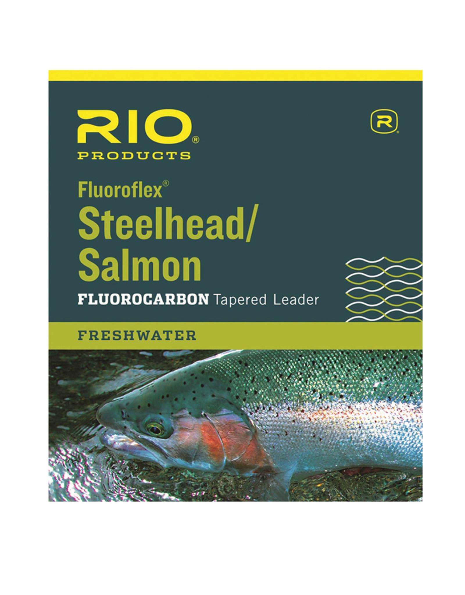 RIO Products Steelhead/Salmon 9ft Leader 3 Pack