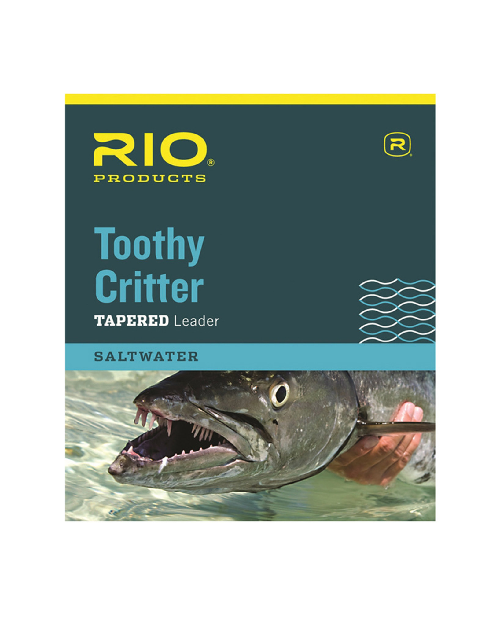 RIO Products Toothy Critter 7.5ft Leader (wire w/link)