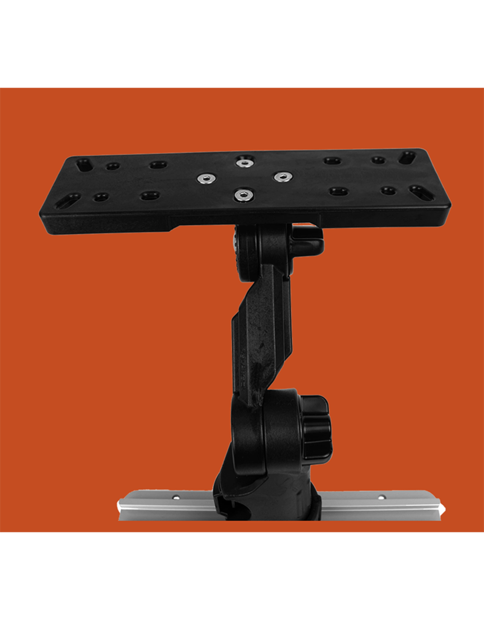 YakAttack Fish Finder Mount: Round Plate