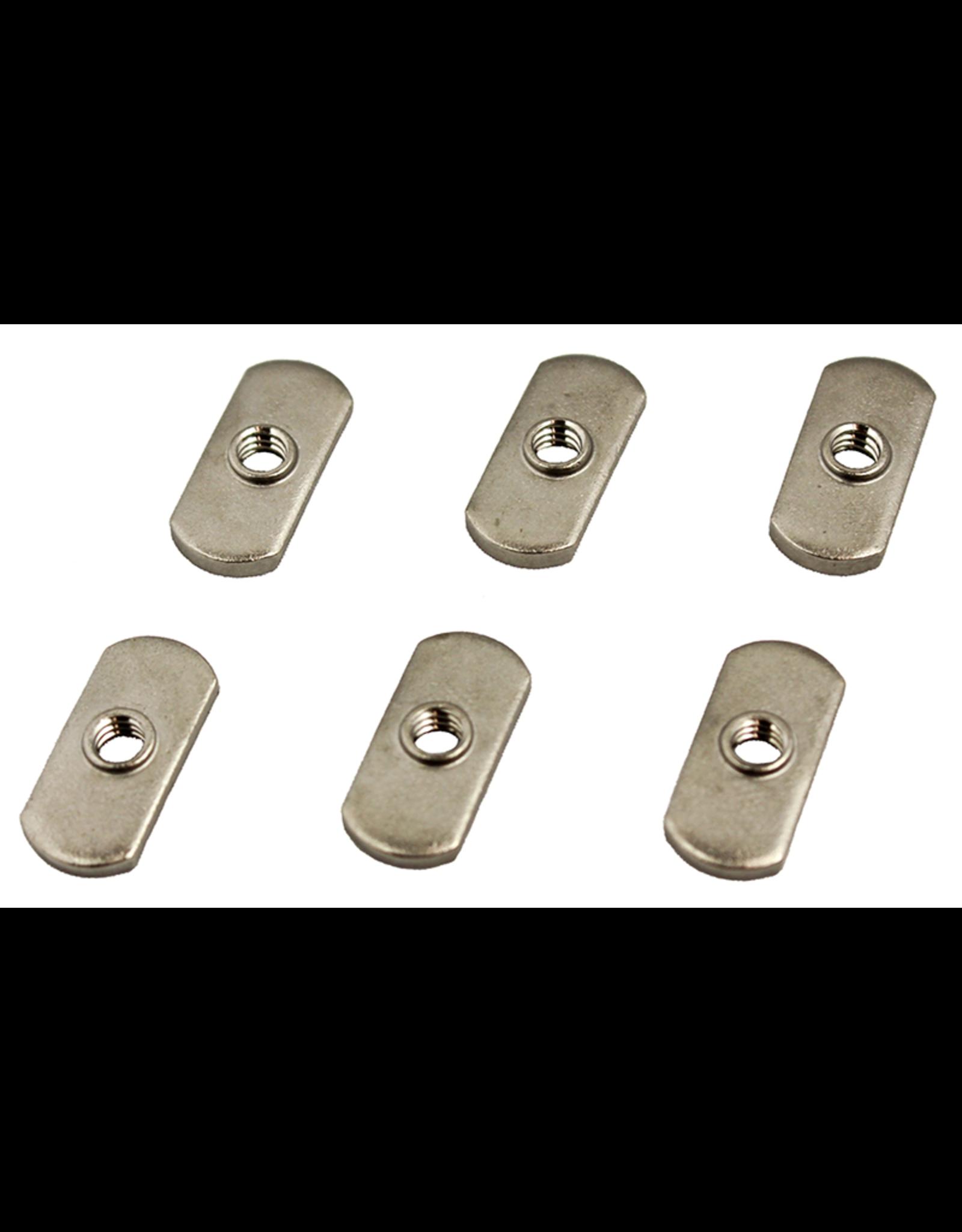 YakAttack 1/4 20 Track Nut 6 pack
