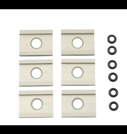YakAttack FeelFree UniTrack Adapter: 6 Pack