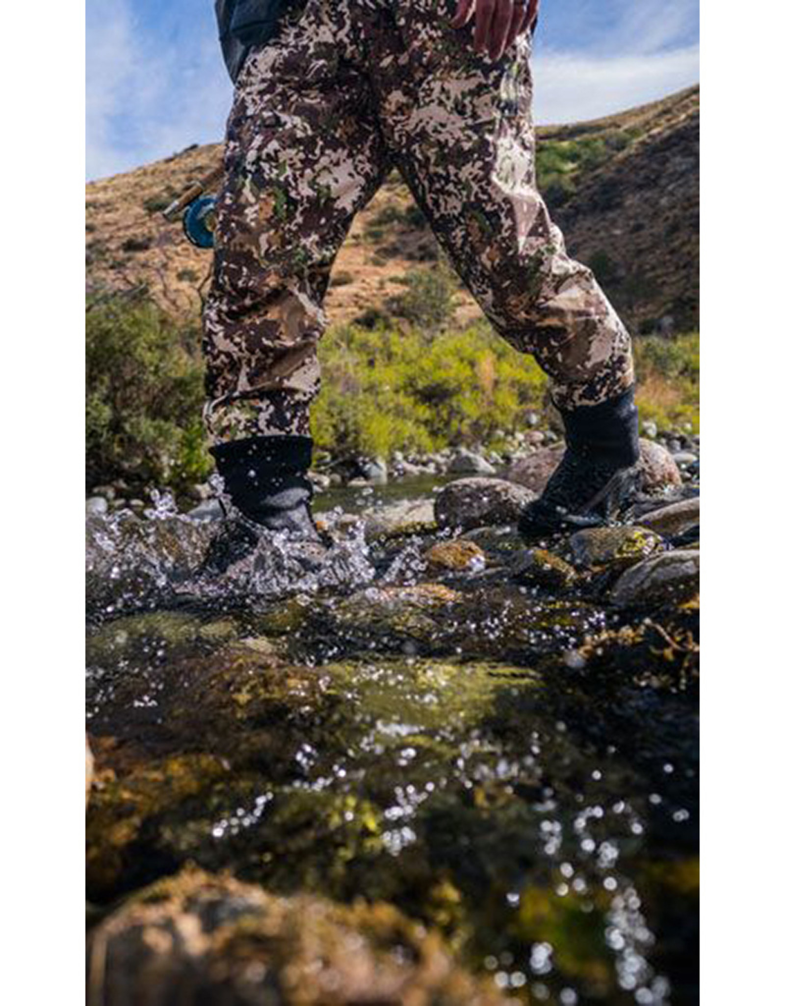 Simms River Camo G3 Guide Stockingfoot