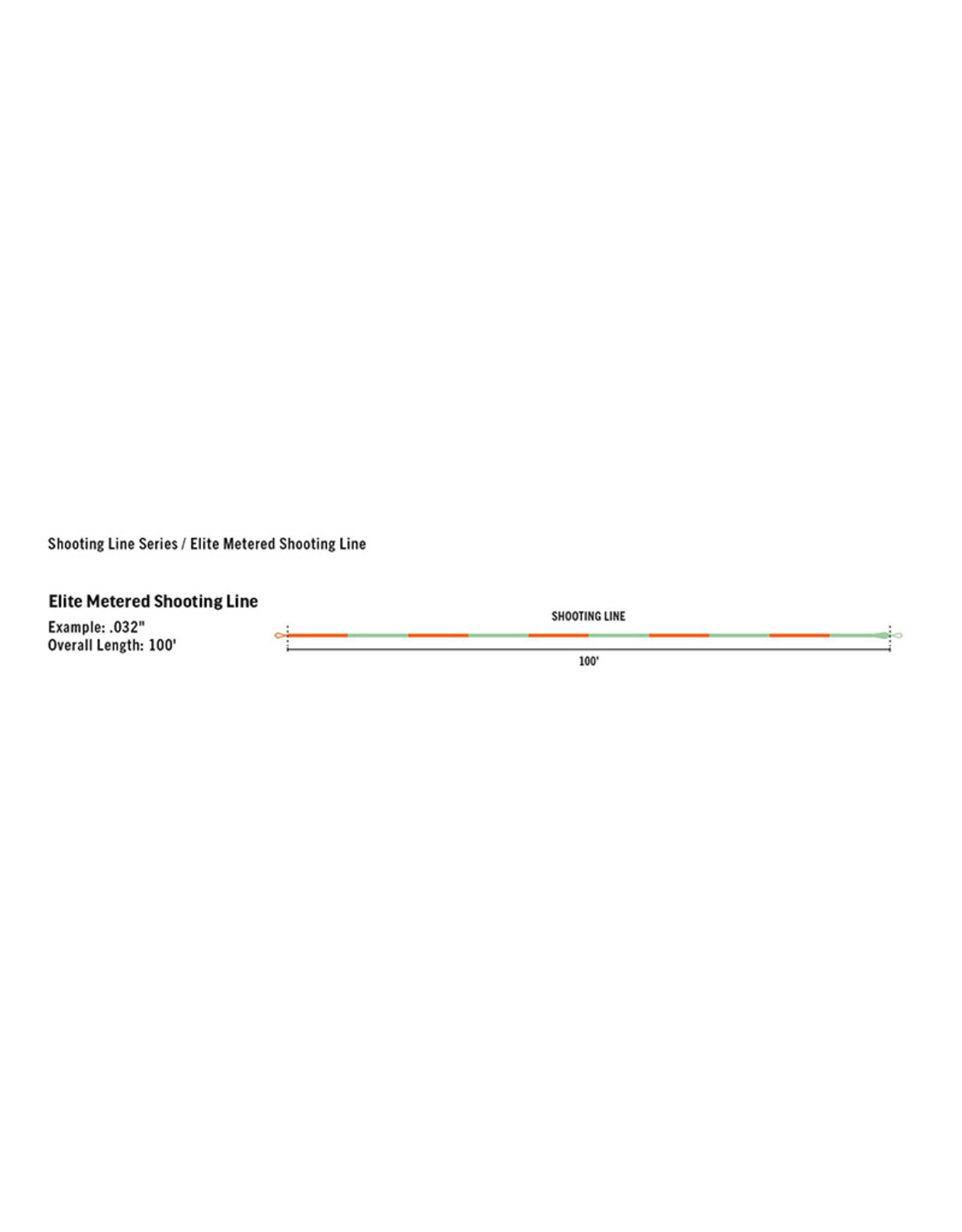 RIO Products Elite Metered Shooting Line