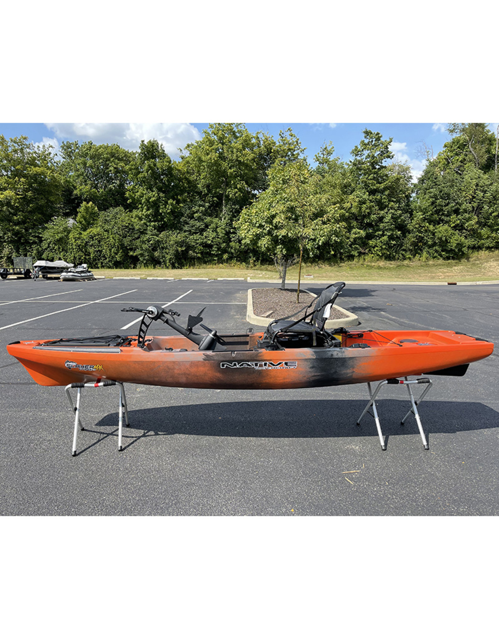 Native Watercraft 2021 Slayer Propel 12.5 MAX DEMO: Copperhead