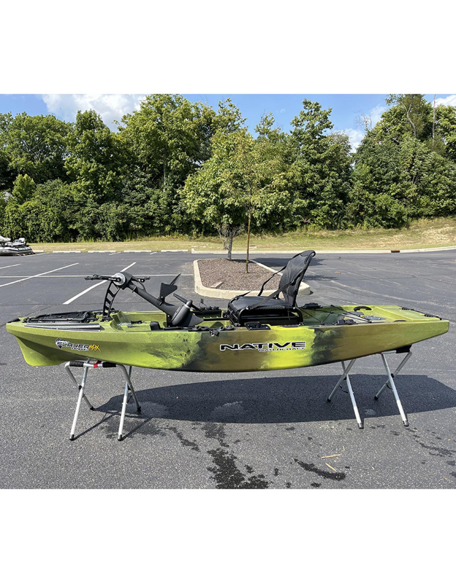 Native Watercraft 2021 Slayer MAX Propel 10 DEMO Gator Green