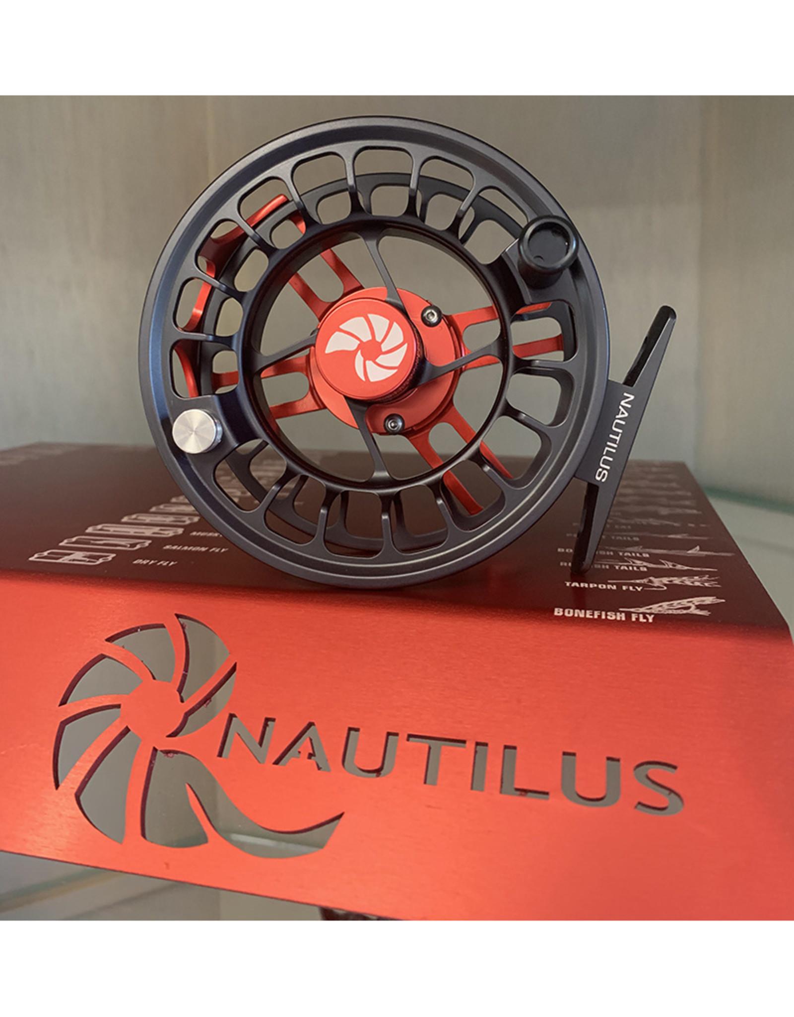Nautilus X-Series Custom: Red Frame XL