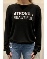I AM MORE Strong + Beautiful Sweatshirt