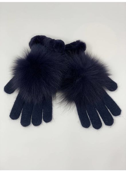 Glamourpuss NYC Knit Angora Blend Gloves and Rex Whipstitch GP804-RX