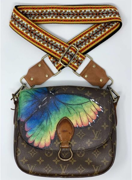 New Vintage Handbags Butterfly