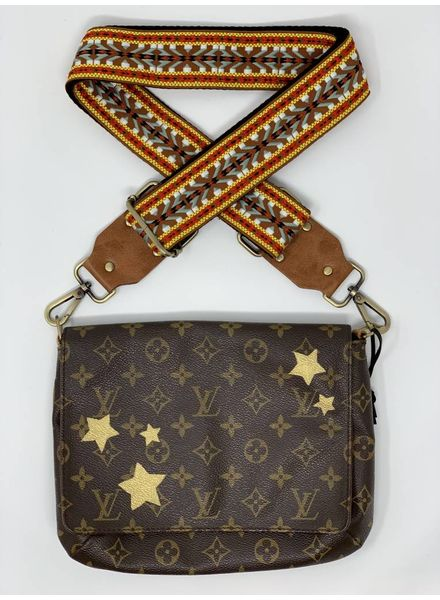 New Vintage Handbags Gold Stars