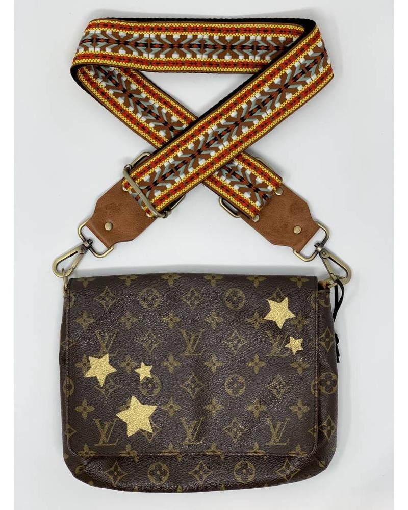 New Vintage Handbags Gold Stars