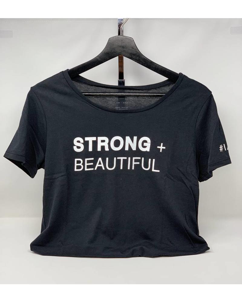 Strong + Beautiful Strong + Beautiful Tee Black