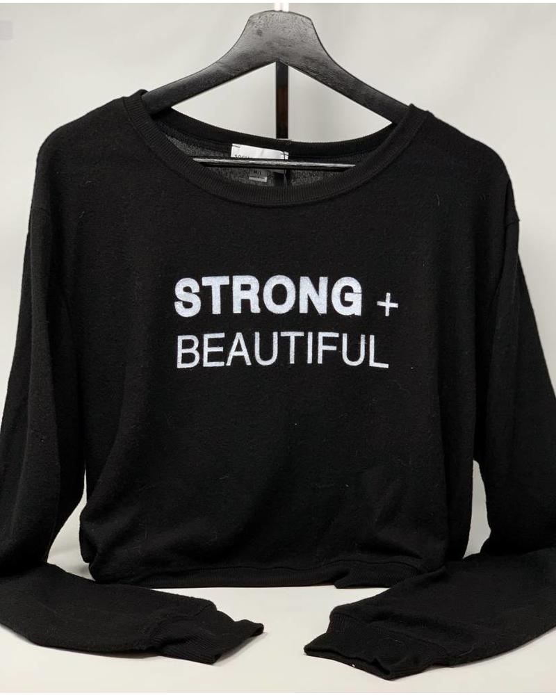I AM MORE Strong + Beautiful Sweatshirt