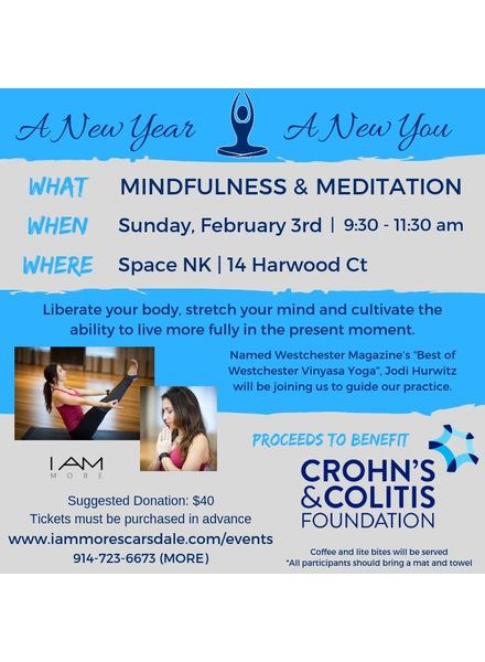 I AM MORE Mindfulness & Meditation for CCFA