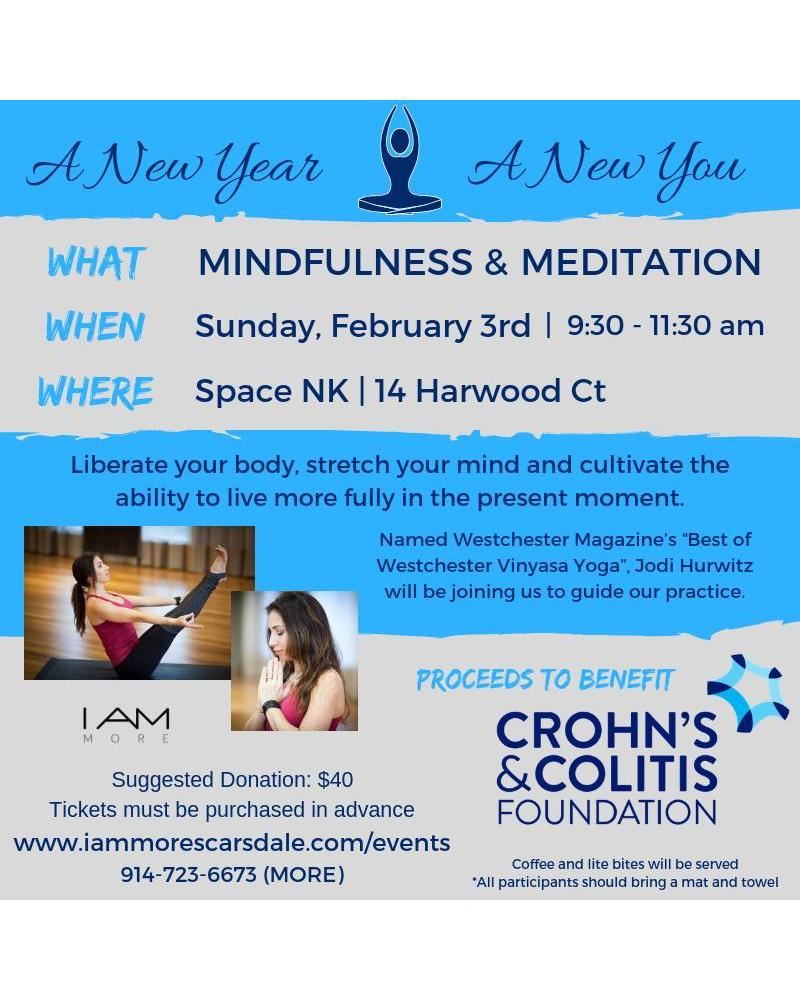 Mindfulness & Meditation for CCFA