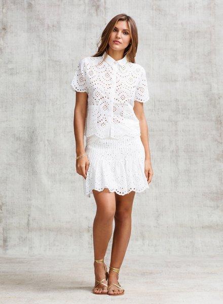 POUPETTE ST BARTH Mini Skirt Rita Pleated Ct E S19