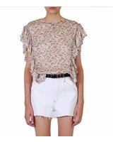 Jason Wu New Meadow Print Ruffle Blouse S19
