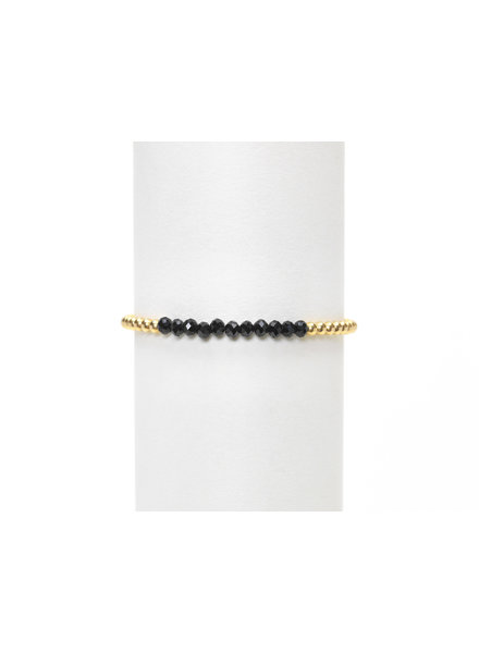 Karen Lazar 3mm Yellow Gold Spinel