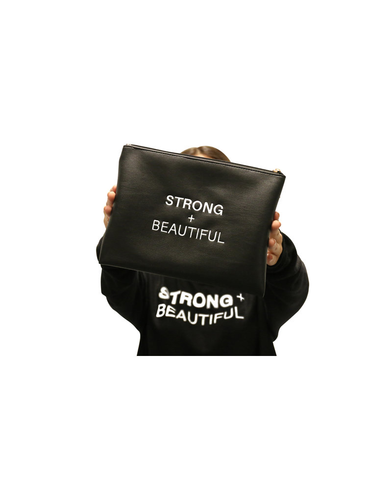 Strong + Beautiful Strong + Beautiful Embroidered Bag