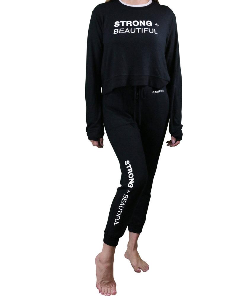 Strong + Beautiful Strong + Beautiful Sweatpants