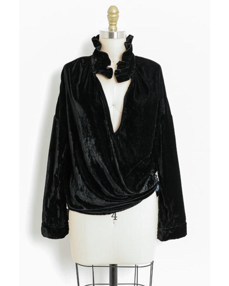 A Shirt Thing Penelope - Velvet Midnight H19