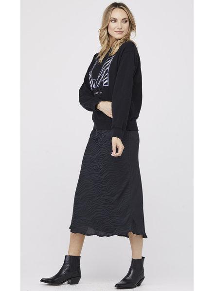 David Lerner Naomi Bias Midi Skirt H19
