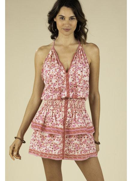 POUPETTE ST BARTH Mini Dress Kimi Ruffled R20