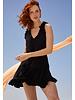 Cool Change Haley Dress Solid Black R20