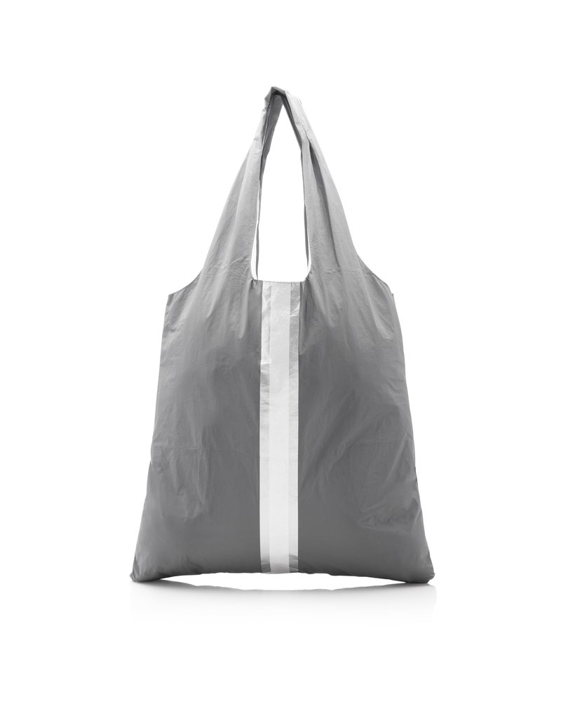 Hi Love Travel Carryall - Cool Gray with Metallic Double Line