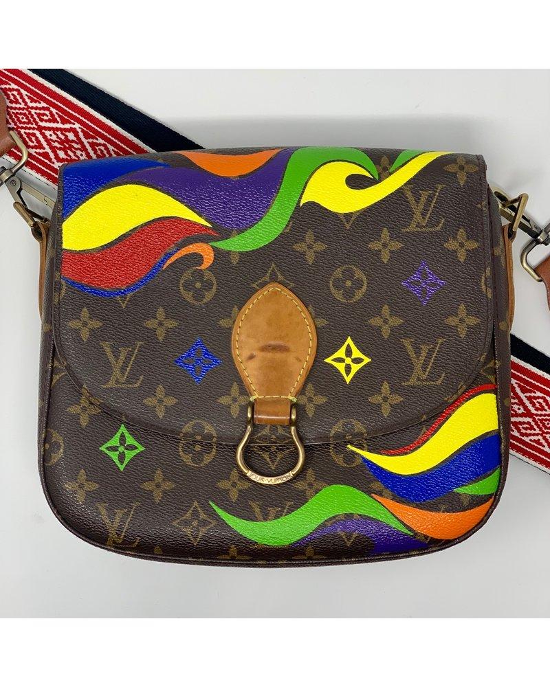 New Vintage Handbags Multi Wave - S
