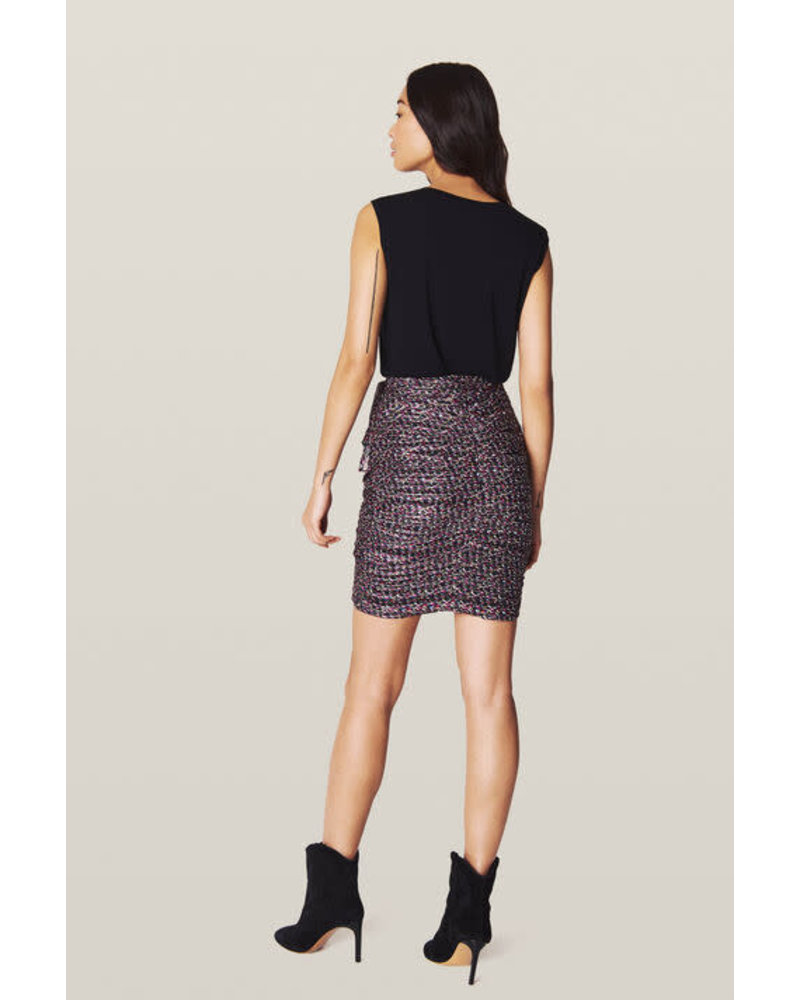 BASH Dina Skirt Black Noir SS20