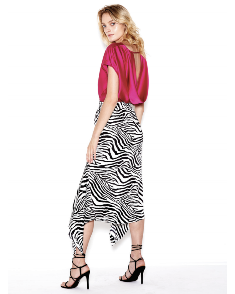 SEN Marcella Midi Skirt Black/White S20