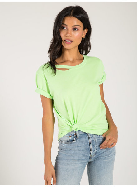 Philanthropy Harlow BFF Tee Iced Lime S20