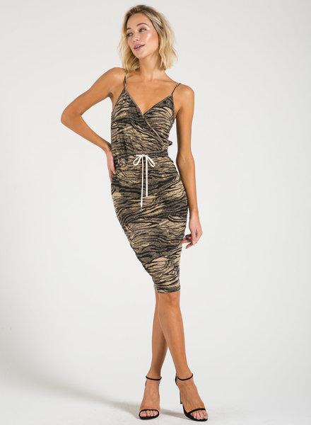 Philanthropy Mina Dress Natural Tiger S20