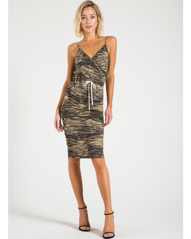 n:Philanthropy Mina Dress Natural Tiger S20