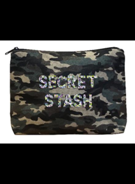 Fallon & Royce Army Camo Bikini Bag - Secret Stash