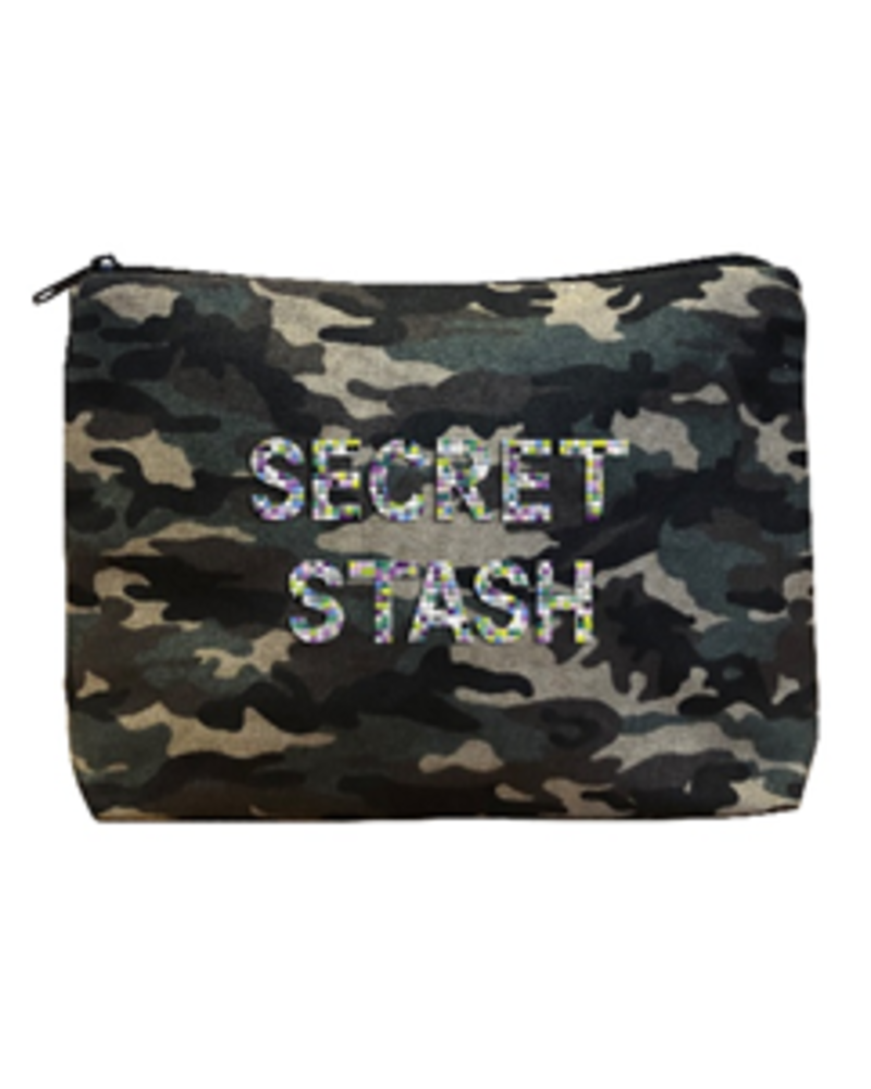 Army Camo Bikini Bag - Secret Stash