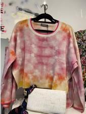 Brodie Chicago Tie Dye Organic White/Yellow & Pink S20