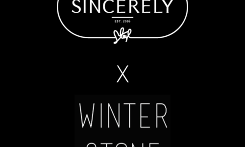 Sincerely x Winter Stone