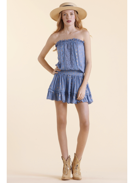 Sunday St Tropez Malibu Co Coeur Dress Ocean S20
