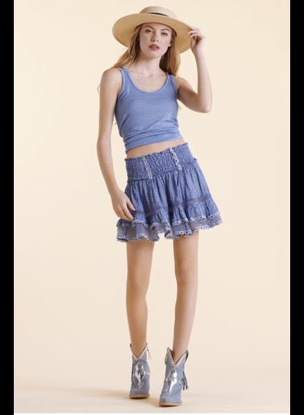 Sunday St Tropez Zolita LI Raye Str Skirt Ocean S20
