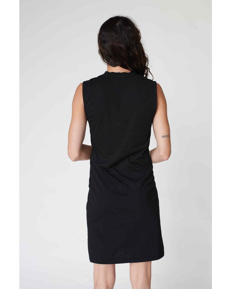 Stateside Supima Side Twist Tank Dress S20