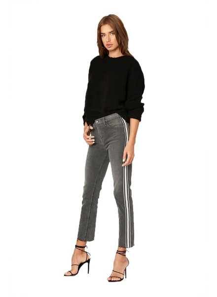 Etienne Marcel EM1054 Athletic Stripe Slim Straight Grey S20