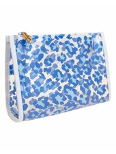 TRVL Road Tripper Clear Leopard Blue