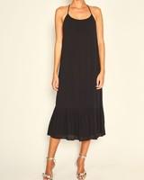 BASH Maelle Dress Black Noir S20