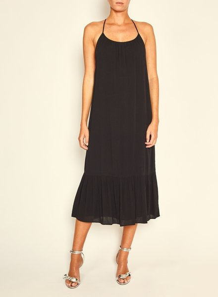 BASH Maelle Dress Black Noir S20