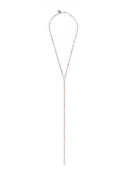 Cloverpost 17980N0W-15 - Necklace Pop Excess L White Bright Multi