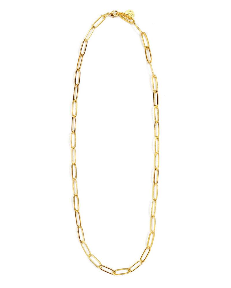 Cloverpost 181447N0Y - Necklace Unison Yellow