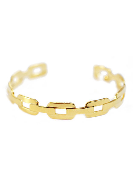 Cloverpost 181369B0Y - Bracelet Scan Cuff Yellow