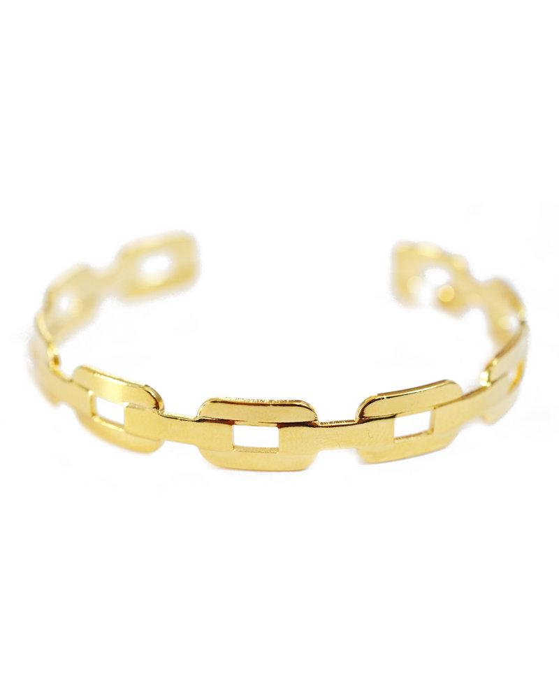 Cloverpost 181369B0Y - Bracelet Scan Cuff Yellow